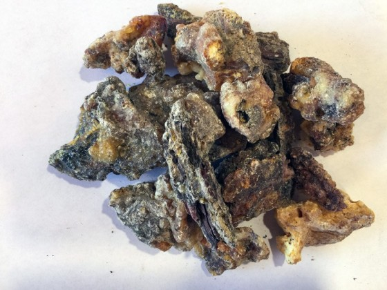 Pine Resin Raw unsifted...