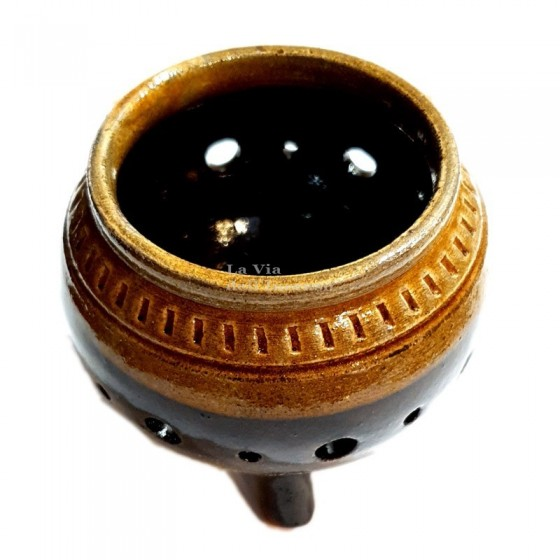 Burner Bowl in glazed...