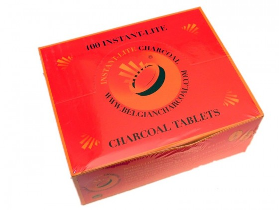 Charcoal for incenses 33mm