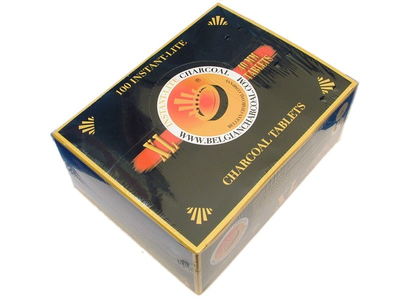 Carboncini per Incenso 40mm