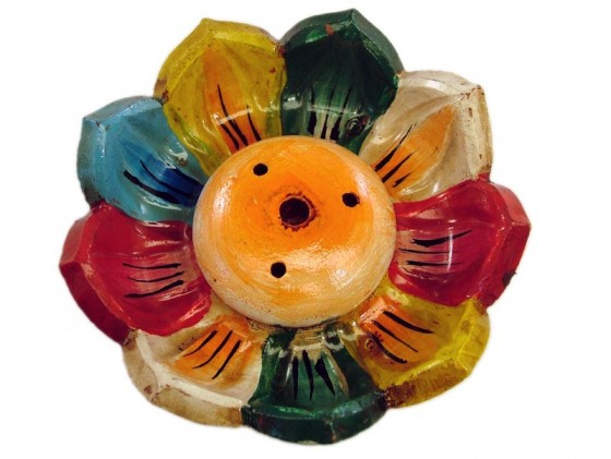 Chopstick holder colored Lotus Flower